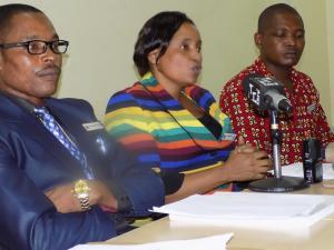 Press Conference on Anti-Dopping Seminar